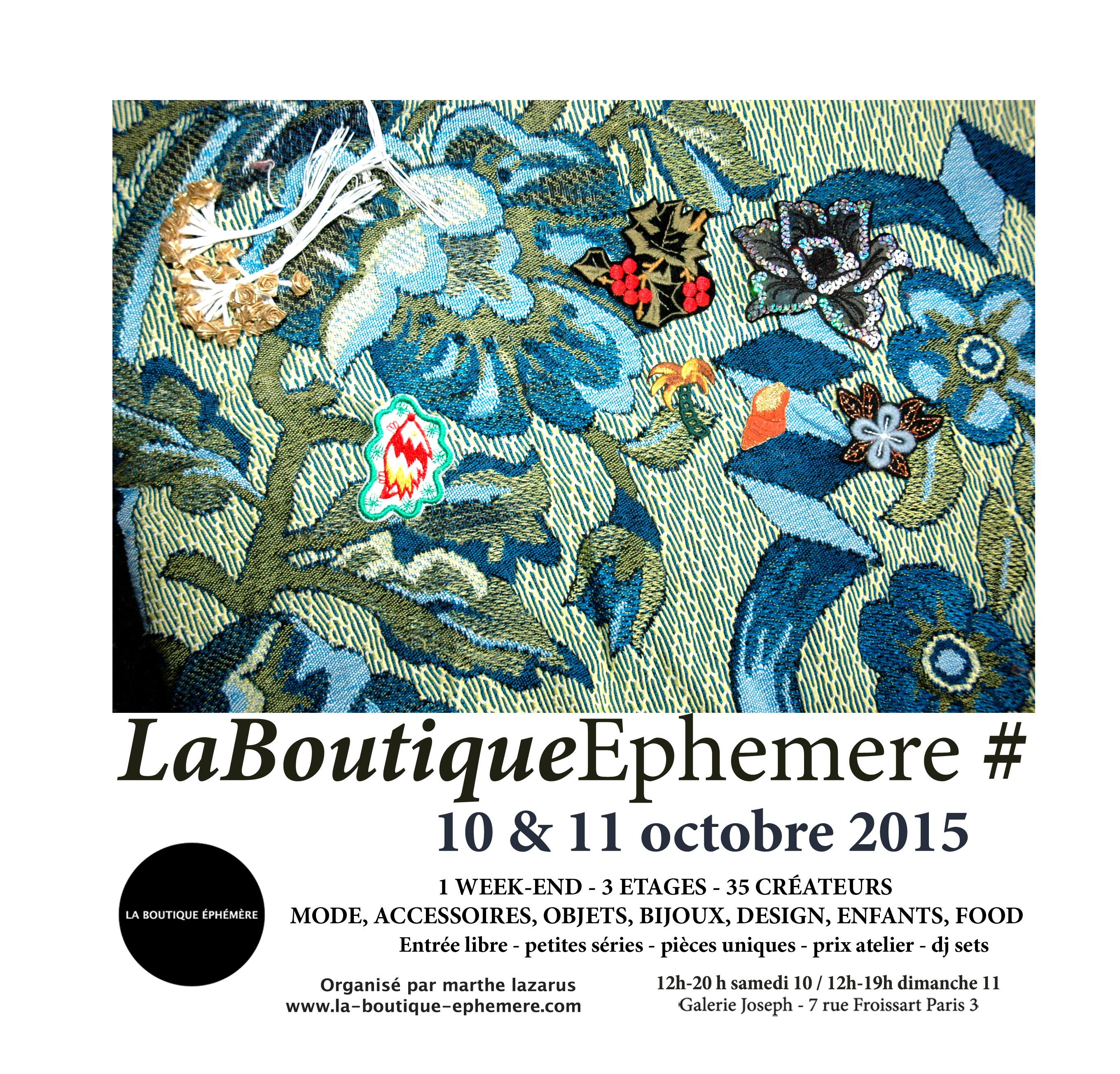 Populaire La Boutique Ephémère # | 2015 OB16