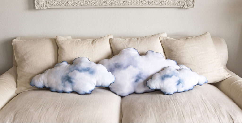 iZe_Collestion coussin nuage